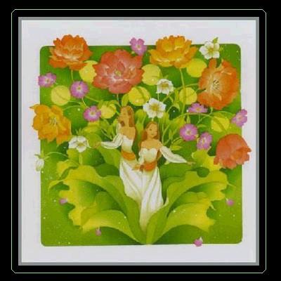 有蝴蝶飞舞的地方就有你的笑-图文 女人是一朵温柔的花