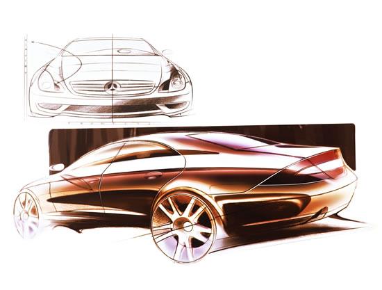 强劲6缸和8缸发动机营造cls非凡动力   cls具有高端跑车一般高清图片