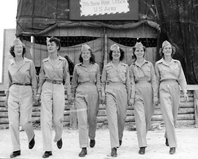 二战美国女兵 图说历史|国外