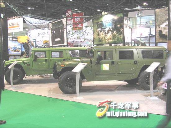 中国类似悍马的最新军用越野车四大家族图集高清图片