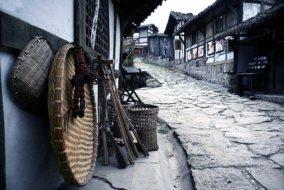 壁纸 风景 古镇 建筑 街道 旅游 摄影 小巷 570_381