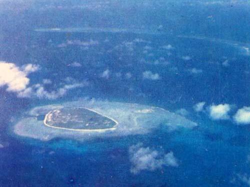 美丽的南海岛屿